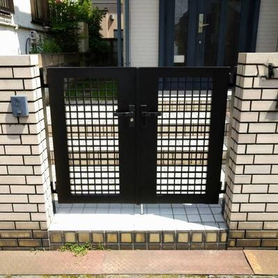 三郷市 好きなデザインを維持して門扉が新しくなりました